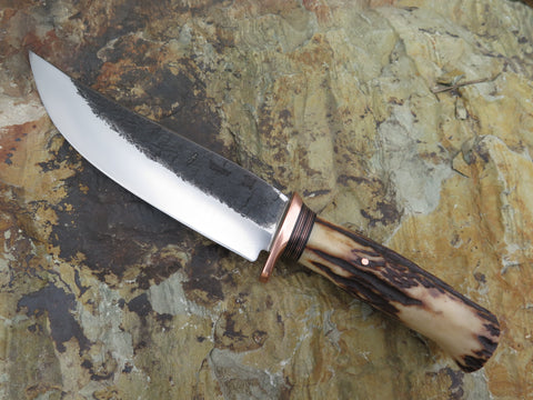 Premium Sambar Stag Camp Knife
