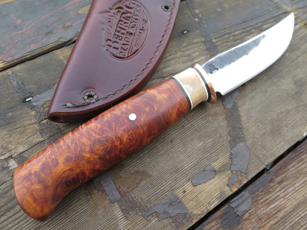 Premium Desert Ironwood & Walrus Hammermark Trout and Bird