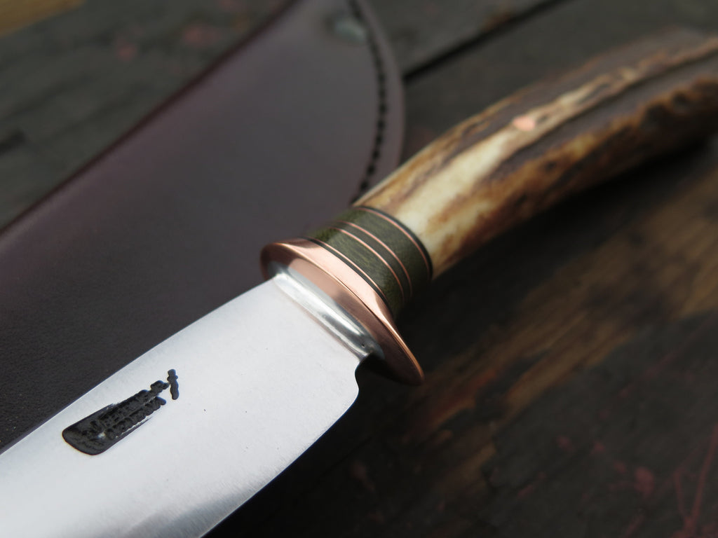 Sambar Stag, Green & Copper Drop Point