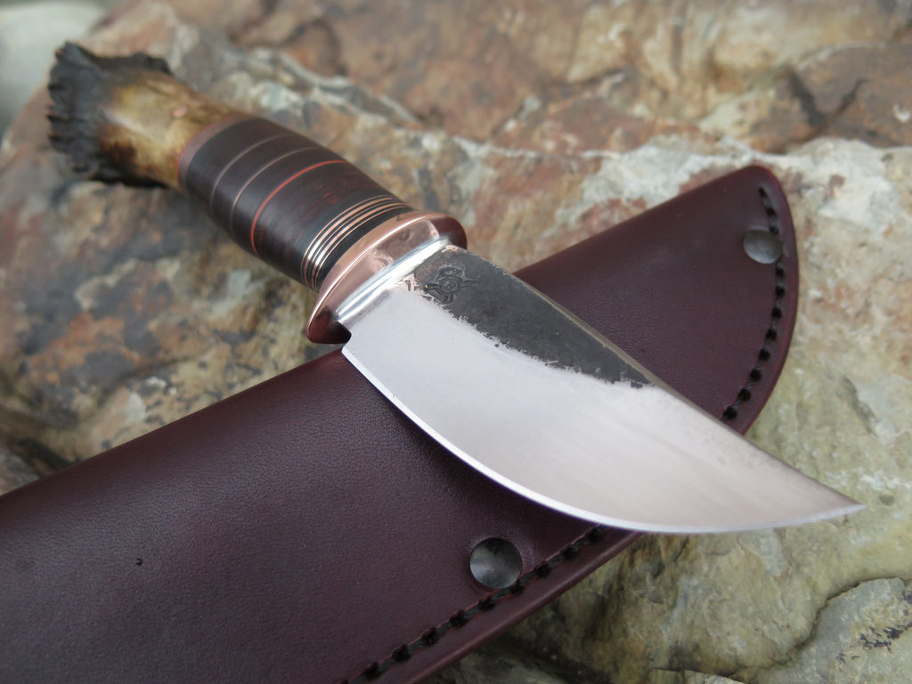 Crown Stag & Horsehide Sharptail