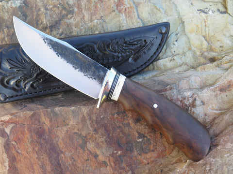 Ward Gay style Claro Walnut & Ox Hunter