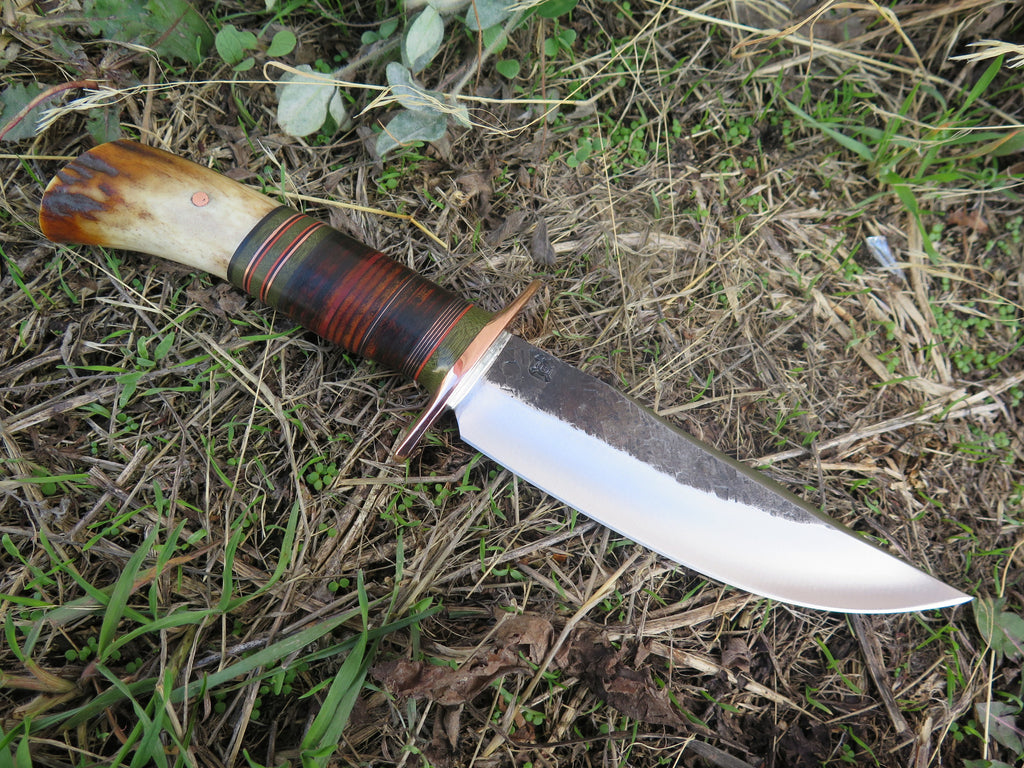 Sambar Stag & Horsehide Scagel style Fighter