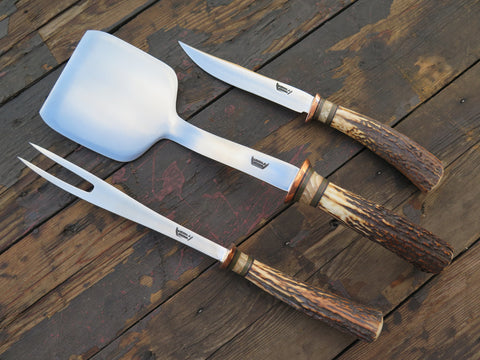 Premium Red Stag & Ox BBQ set