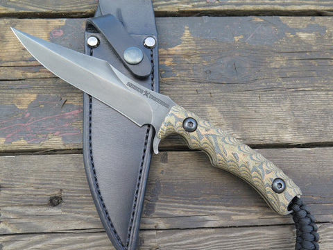 Behring Technical Wraith - Blued / Camo