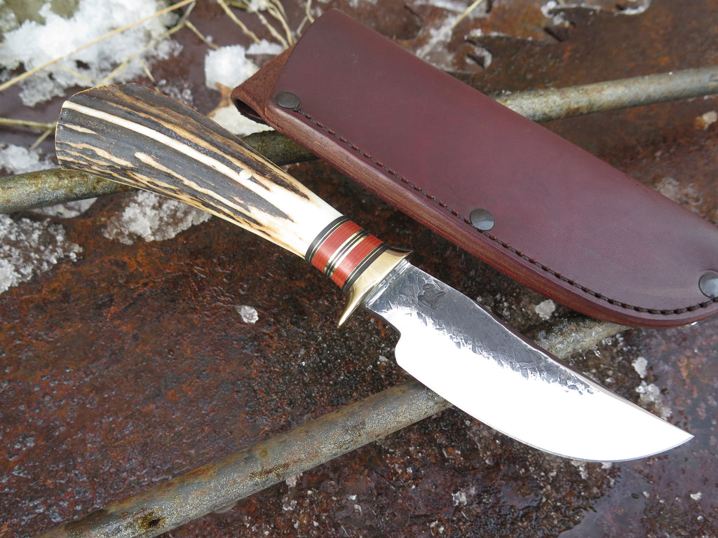 Sambar Stag & Brass Hunter