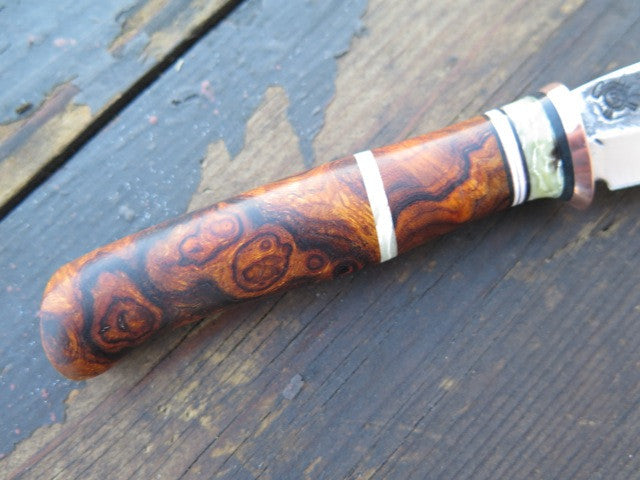 Desert Ironwood Burl & Ox Pocket