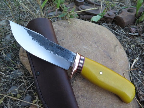 Yellow Micarta Woodcraft