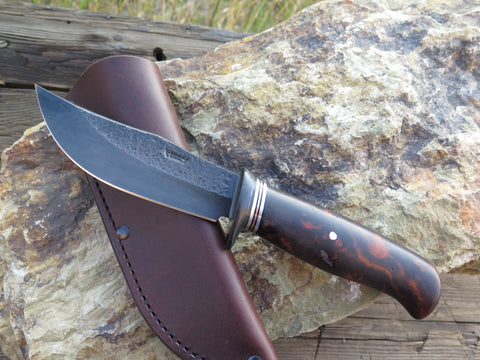 Premium Desert Ironwood Burl Blued Hunter