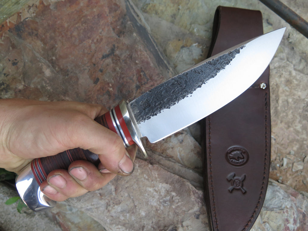 Horsehide and Aluminum XL Drop Point
