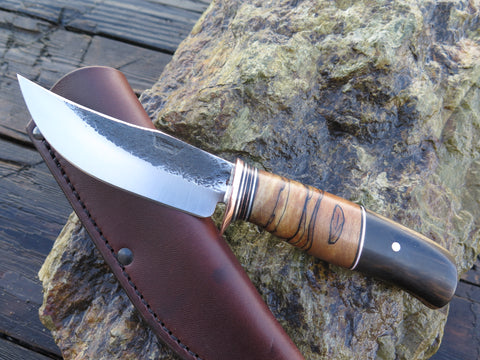 Black and White Ebony Hunter