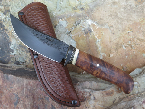 Birdseye Redwood and Ox Blued Hunter