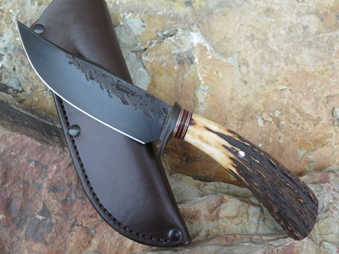 Premium Sambar Stag Blued Hunter