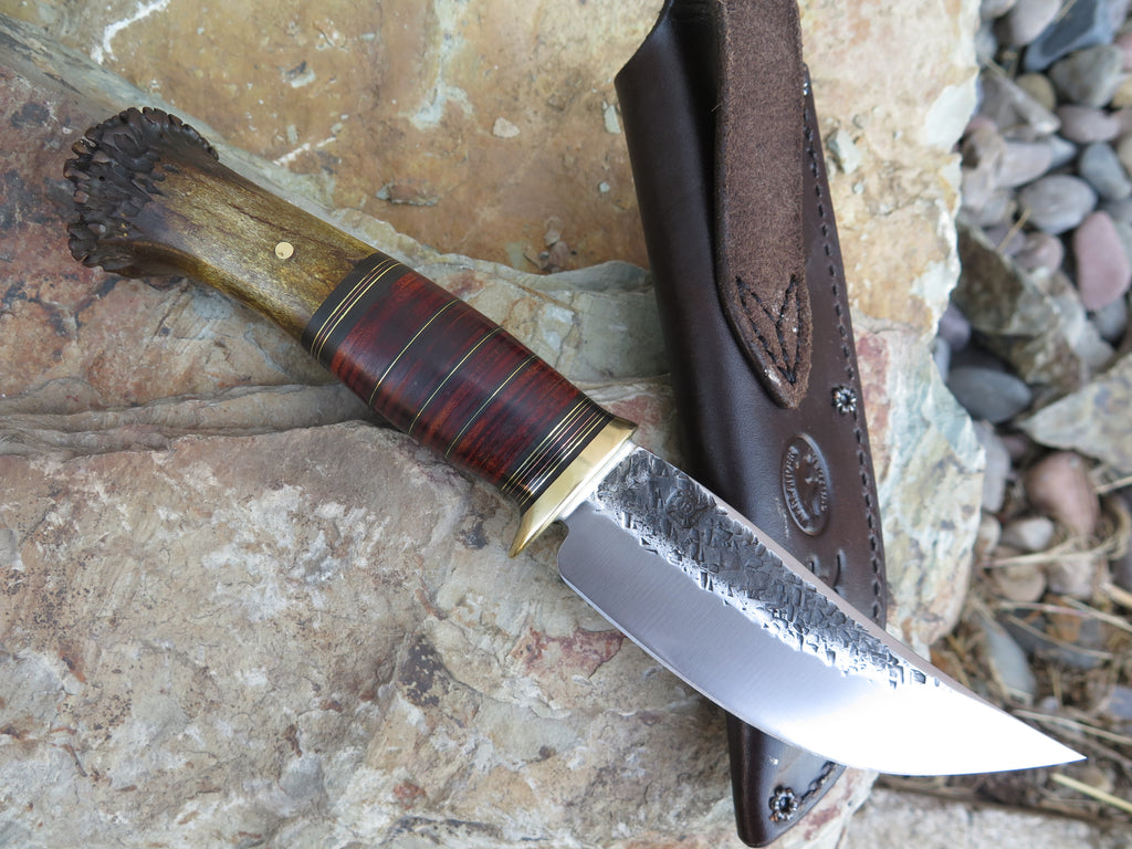 Crown Stag and Horsehide Hunter