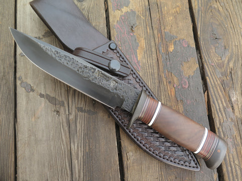 Claro Walnut, Walrus and Horsehide Model 1 style Fighter