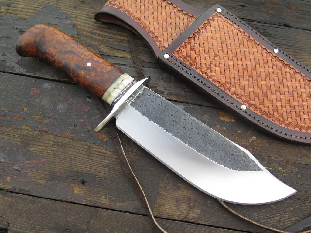 Premium Ironwood and Ox Boss SW Bowie