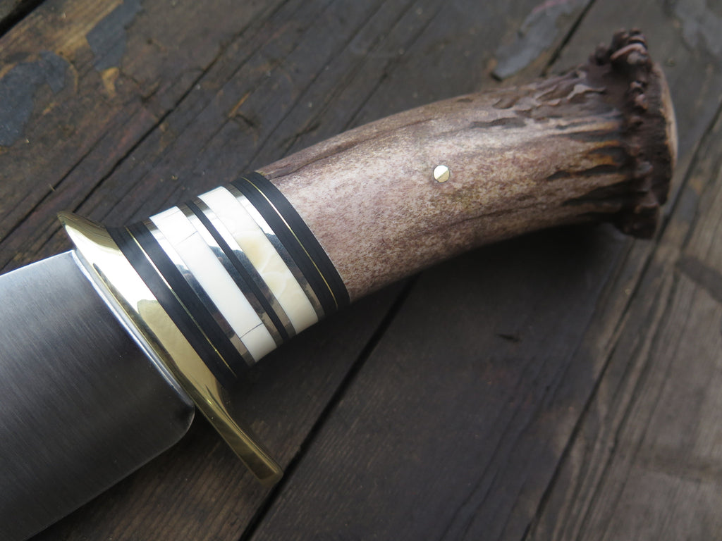 Crown Stag & Ivory Stainless Camp Knife