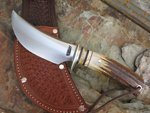 J. Behring Jr. Handmade Stag & Ox Hunter
