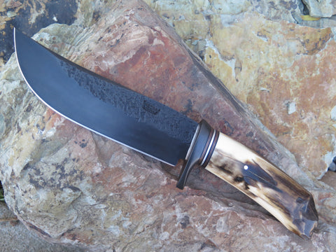 Premium Artifact Walrus Ice Chisel Camp Knife