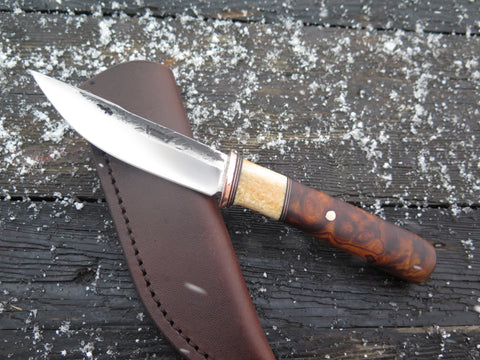 Premium Desert Ironwood and Fossil Walrus Woodcraft