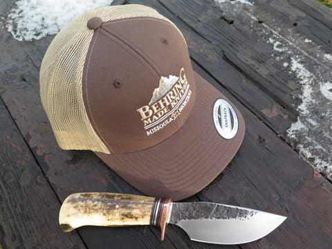 Behring Made™ Classic Snapback - Elk Brown