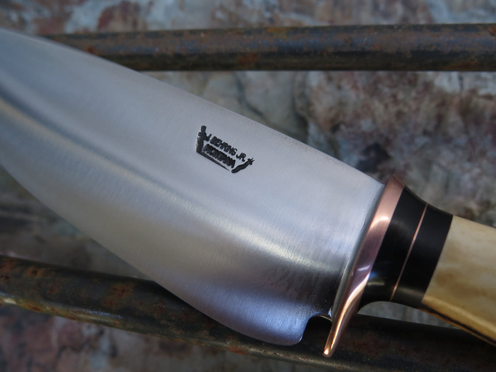 Sambar Stag Stainless Chef Knife