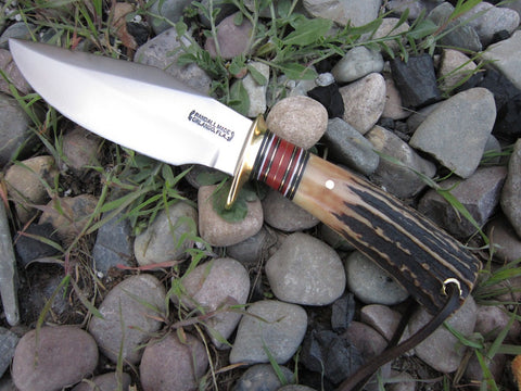 Custom Stag Randall Re-handle