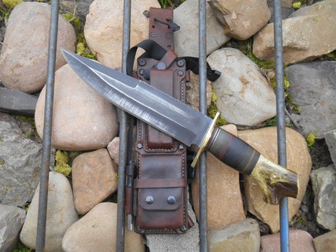 Custom Crotch Stag Mineral Mountain Re-handle