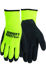 AD1029 - Thinsulate Lined Safety Colored Dipped Glove