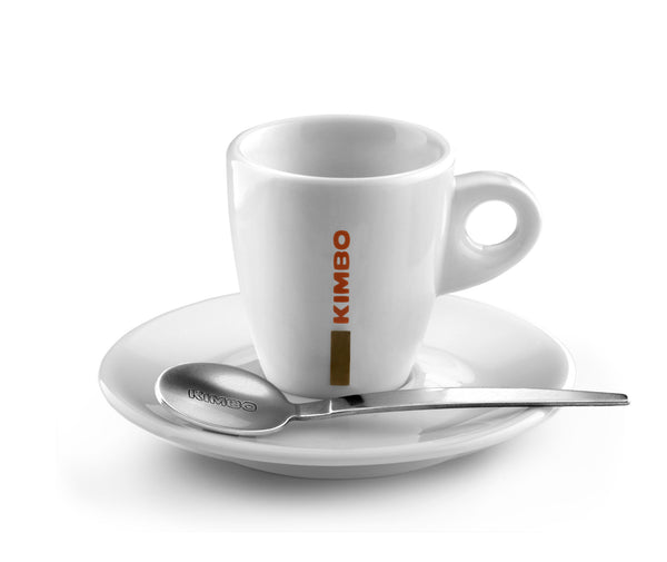 Kimbo Espresso Cup and Saucer Ceramic