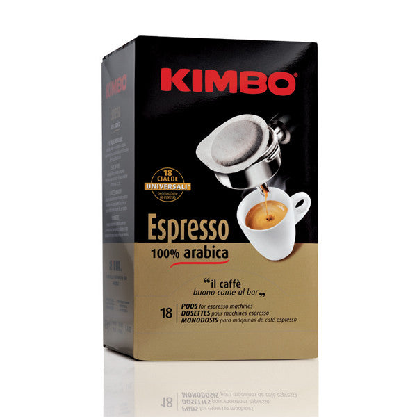 Kimbo Espresso Gold 100% Arabica Coffee Pod