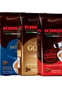 Kimbo Coffee Bean Set