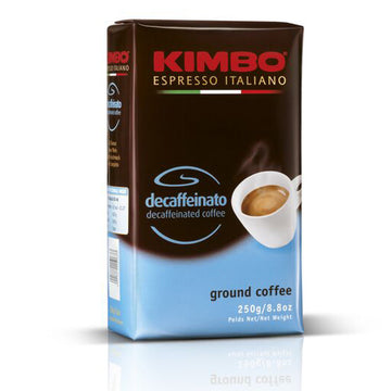 Kimbo Espresso Decaffeinated Ground 250g