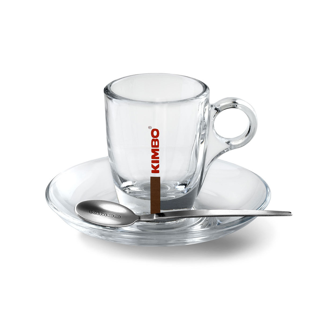 Glass espresso coffee cups uk - Kimbo Glass Espresso Cup