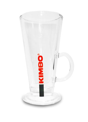 Kimbo Latte Glass x 6
