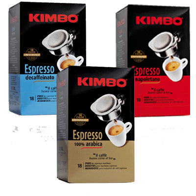 Kimbo ESE  Mixed Box - 54 Pods