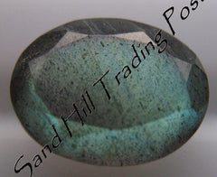 Faceted Oval Cut Labradorite AAA