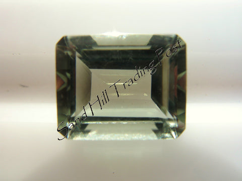 Emerald Cut Green Amethyst AAA