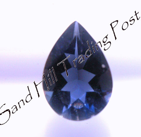 7x5 Pear Cut Iolite AAA