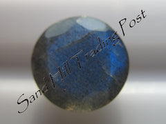 Faceted Round Cut Labradorite AAA