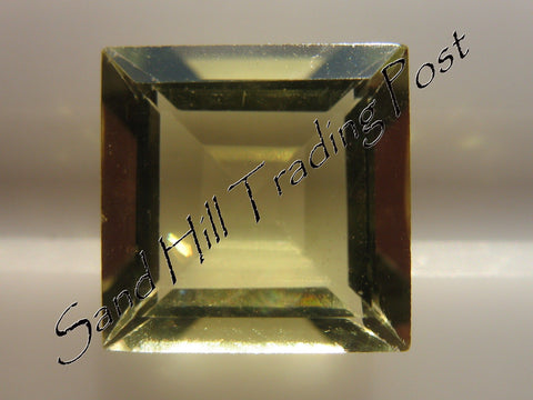 Square Cut Lemon Quartz AAA
