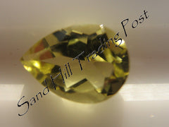 Pear Cut Lemon Quartz AAA