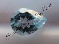 Pear Cut Sky Blue Topaz AAA