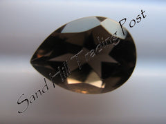 Pear Cut Smoky Quartz AAA