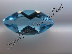 Marquise Cut Swiss Blue Topaz AAA