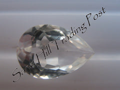 Pear Cut White Topaz AAA