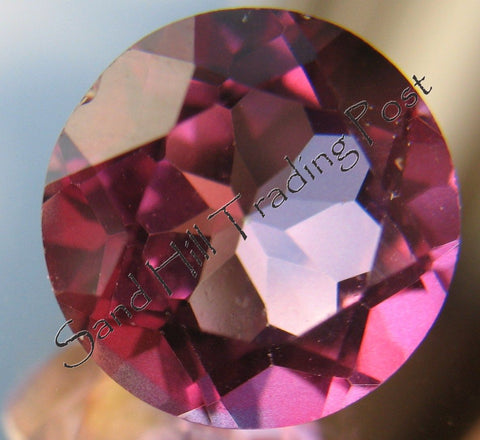 Round Cut Pink Topaz AAA