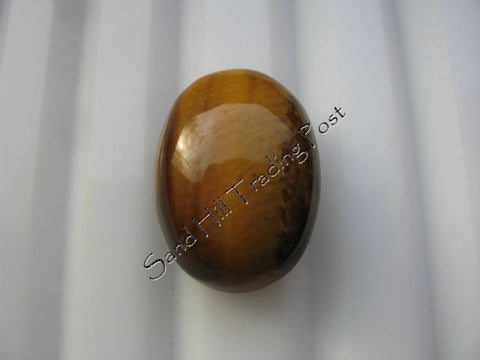 Oval Cut Tiger Eye Cabochon AAA
