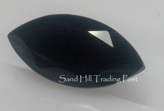 Marquise Cut Faceted Black Onyx AAA