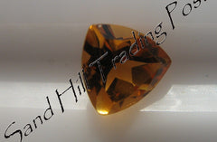 Trillion Cut Golden Citrine AAA