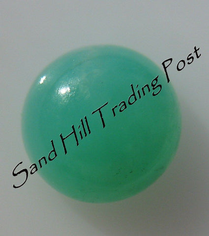 Round Cut Chrysoprase Cabochon AAA